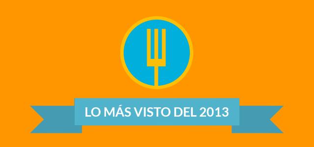 Los más visto del 2013 en Hambrientos.cl