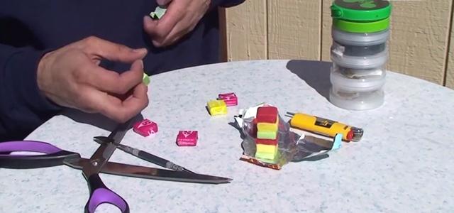 Como hacer una pipa de marihuana hecha de masticables Starburst